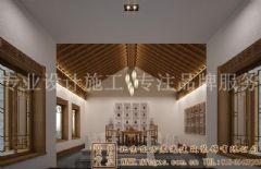 清幽简净的中式别墅装修案例