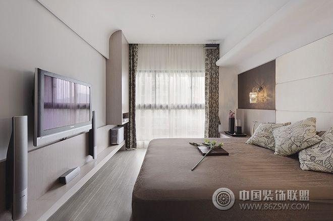 133平现代文艺精品美家-卧室装修图片