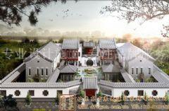 大气恢弘的中式别墅装修案例
