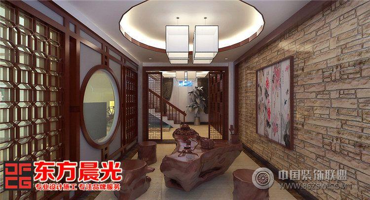 独栋别墅室内装修设计中式风格 其它装修效果图 八六 中国 装饰联盟装