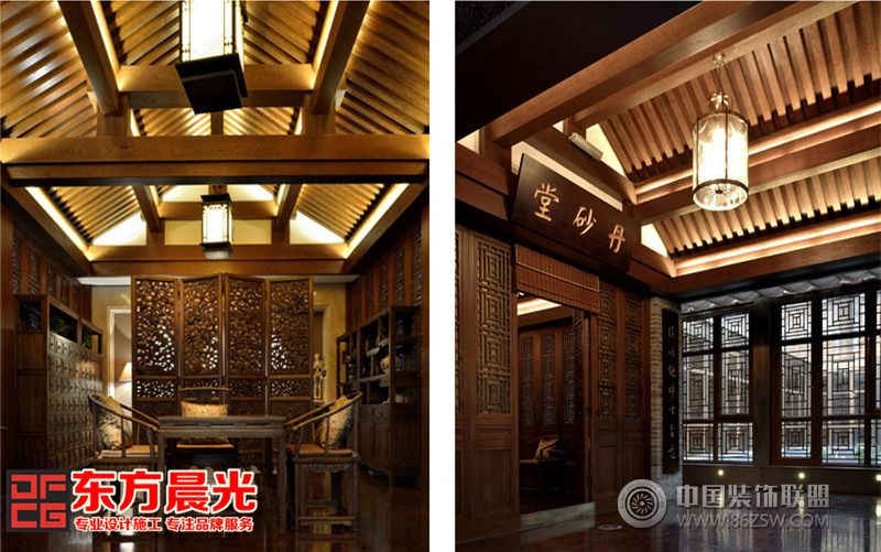 求份中式会所设计说明,中式会所要怎么装修比较适合