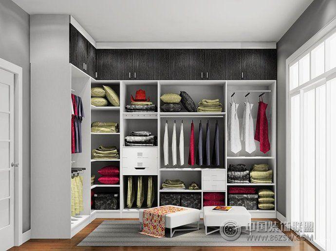 清新卧室衣帽间装修设计方案-其它装修图片