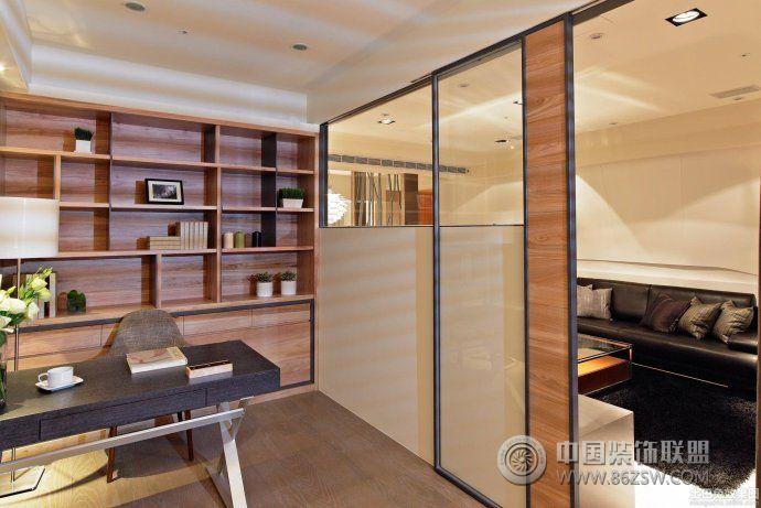 书房隔断创意设计 客厅装修效果图