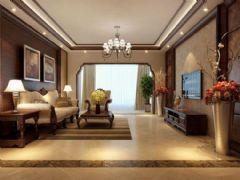 金领时代装修案例中式风格三居室