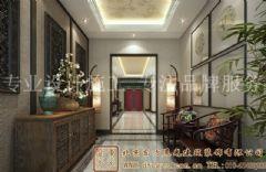 高贵雅致的中式别墅装修案例
