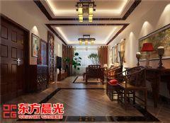 别墅中式装修效果图展示中国风中式风格别墅