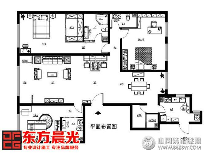 別墅中式裝修效果圖展示中國風