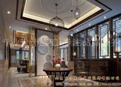 风格浓郁的中式别墅装修案例