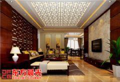 中式风格北京别墅装修设计朴实芳华中式风格别墅