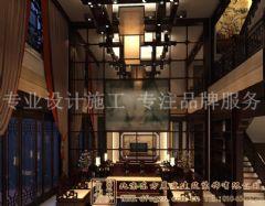 古韵浓浓的中式别墅装修案例混搭风格别墅