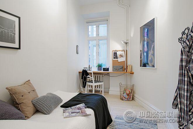 120平北欧风格温馨公寓欧式过道装修图片