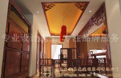 华丽壮观的中式别墅装修案例