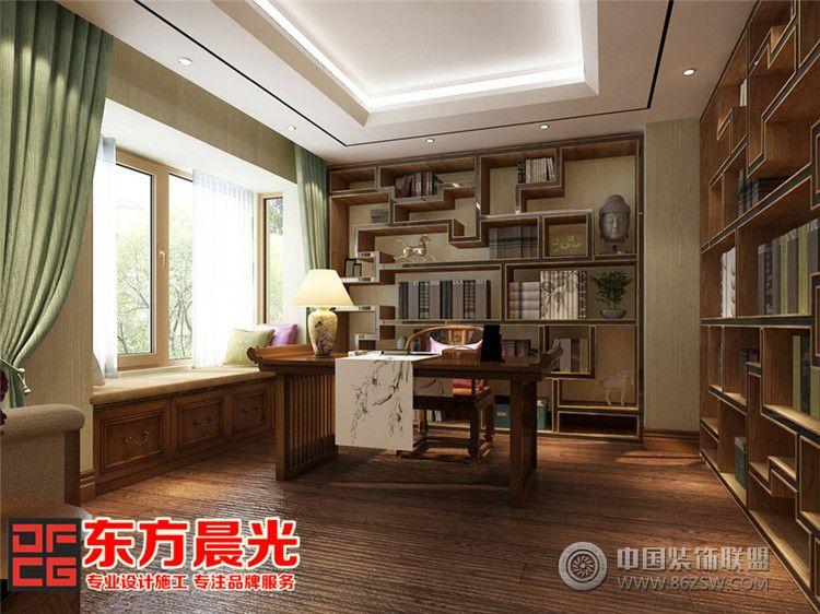 联排别墅装修效果图 书房装修效果图 八六 中国 装饰联盟装修