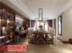 新中式风格联排别墅装修效果图中式风格别墅