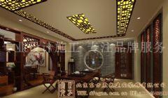 华贵儒雅的中式别墅装修案例
