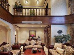 成都尚层装饰别墅装修设计师推荐美式风格案例效果图欣赏(一)美式风格别墅