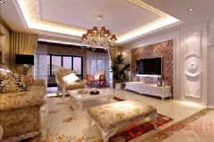 阳光首院装修案例——烟台广来装饰欧式风格三居室