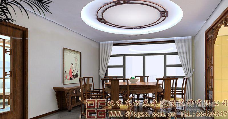 中式别墅室内装饰