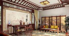 清新雅意的中式别墅装修案例