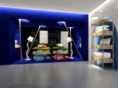 阿森設計-某床上用品終端店面SI設計
