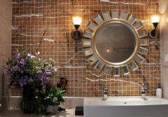 阿森设计-住宅空间案例成都130平方家装实品屋现代风格大户型