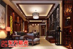 中式别墅简约风格客厅装修设计中式风格别墅