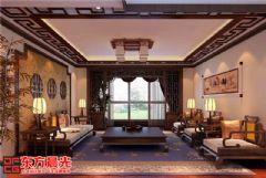 传统中式装修别墅设计效果图中式风格别墅