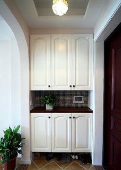 阳台收纳柜设计案例_现代大户型装修效果图