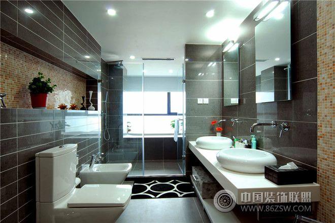 146平东南亚幸福居-卫生间装修效果图-八六(中国)装饰