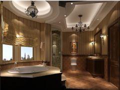 成都尚层装饰别墅装修美式风格案例推荐(二)美式风格别墅