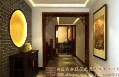浪漫奢华的中式别墅装修案例