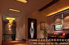 高贵古韵的中式别墅装修案例