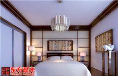 中式别墅装修设计书香气质传承中式卧室装修图片