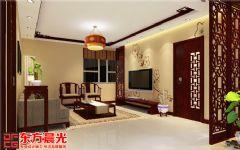 中式风格时尚别墅装修设计中式客厅装修图片