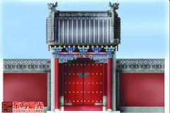 北京中式门头装修效果图会所装修图片