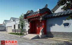 北京中式门头装修效果图
