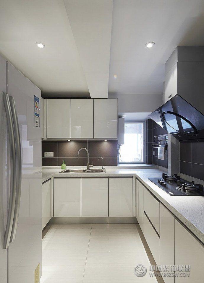 小户型厨房装修案例 客厅装修效果图 八六装饰网装修效果