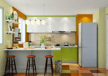 小户型厨房装修案例现代厨房装修图片