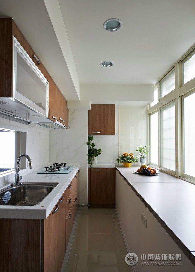 小户型厨房装修案例 客厅装修图片