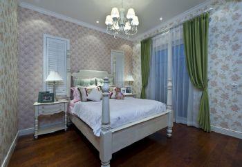 288平四居地中海别墅地中海卧室装修图片