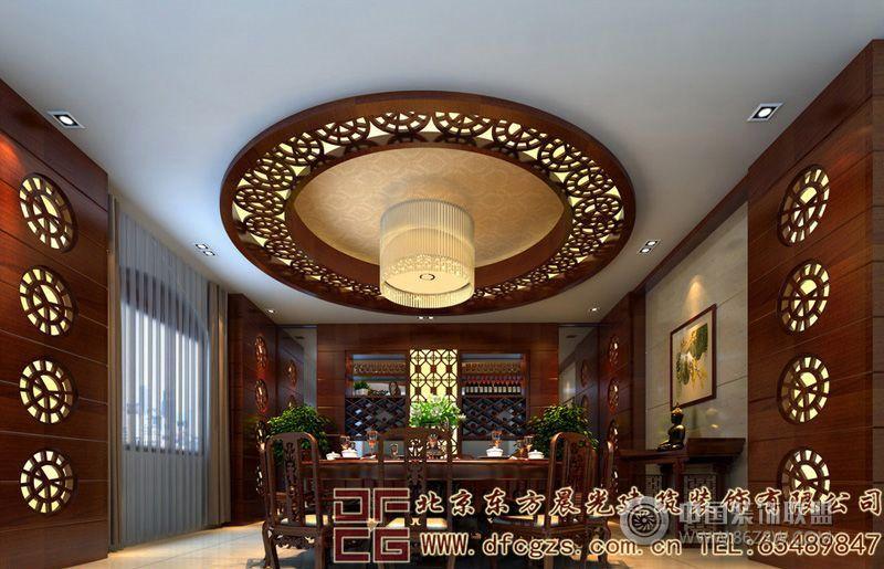 别墅装修设计效果图 单张展示 酒店装修效果图 八六装饰网装
