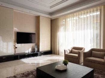 70平简约温馨公寓简约客厅装修图片