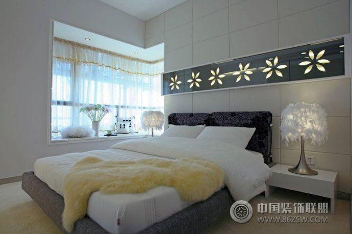 創意設計小戶型臥室-臥室裝修效果圖-八六(中國)裝飾