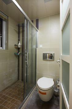 85平简约跃层温暖雅居简约卫生间装修图片