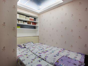 85平简约跃层温暖雅居简约卧室装修图片