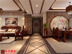 精雕细琢中式装修别墅设计图中式客厅装修图片