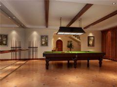 成都尚层装饰别墅装修美式风格装修案例效果图欣赏(五)美式其它装修图片