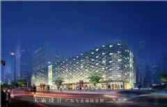 参数化设计手法打造城市综合体设计效果图商场装修图片