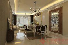 容大东海岸装修案例——烟台广来装饰欧式客厅装修图片