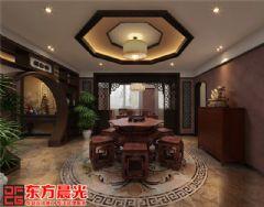 厚重古典风格的中式别墅装修中式其它装修图片